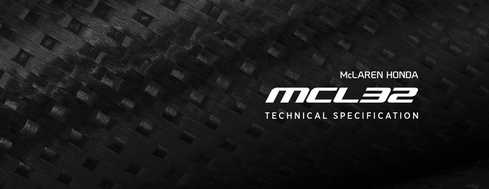 McLaren-Honda MCL32 Technical Specification