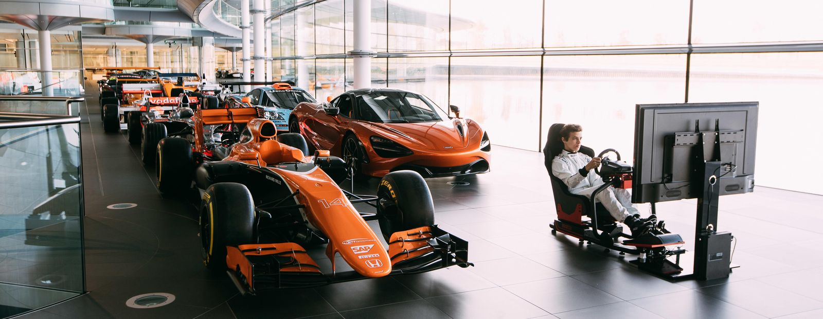 McLaren and Logitech G team up for the World's Fastest Gamer competition