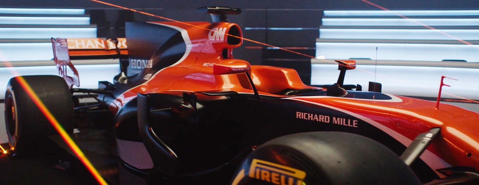 Change Your Game: Introducing the McLaren-Honda MCL32