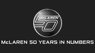 McLaren 50 Years In Numbers
