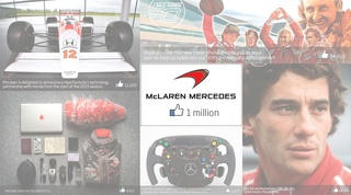 McLaren reaches 1 million facebook fans