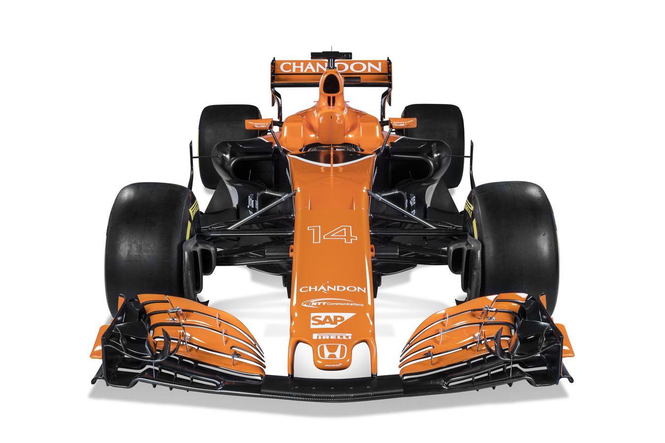 mclaren formula 1 - mclaren honda mcl32 breaks cover