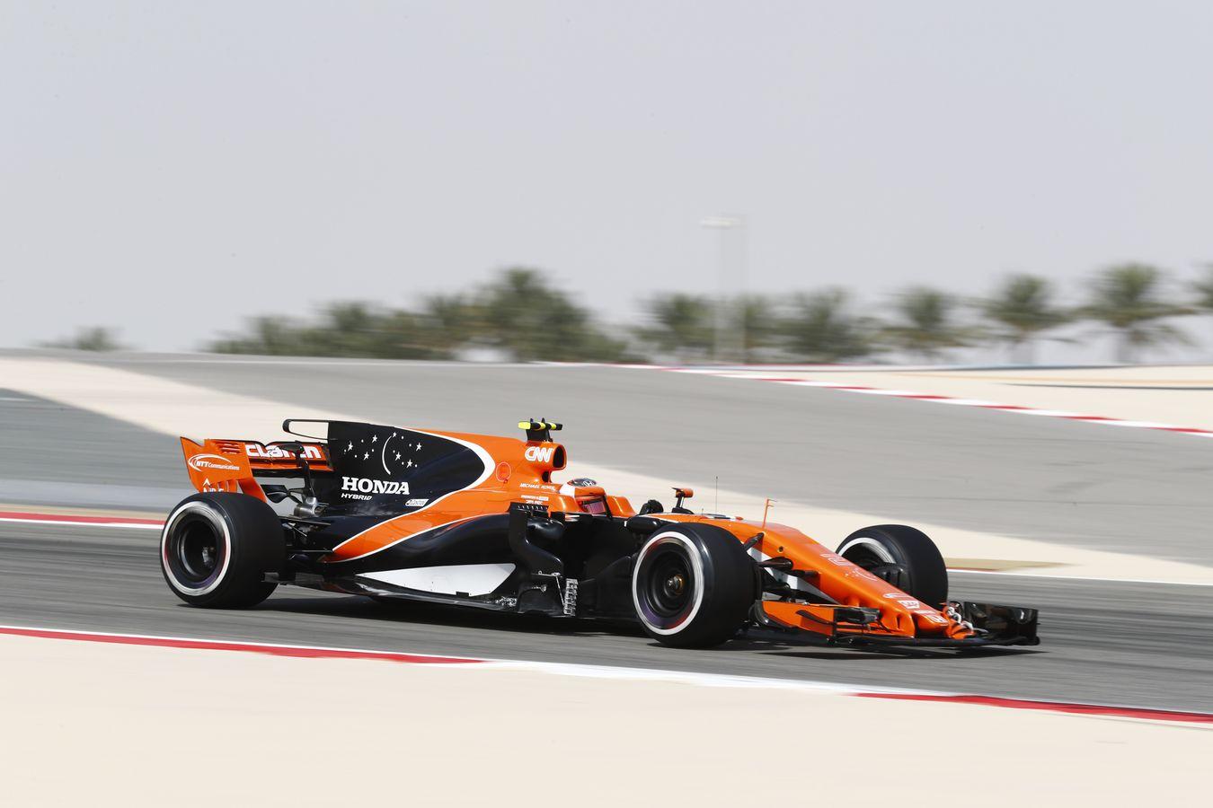 mclaren formula 1 2017 bahrain grand prix free practice